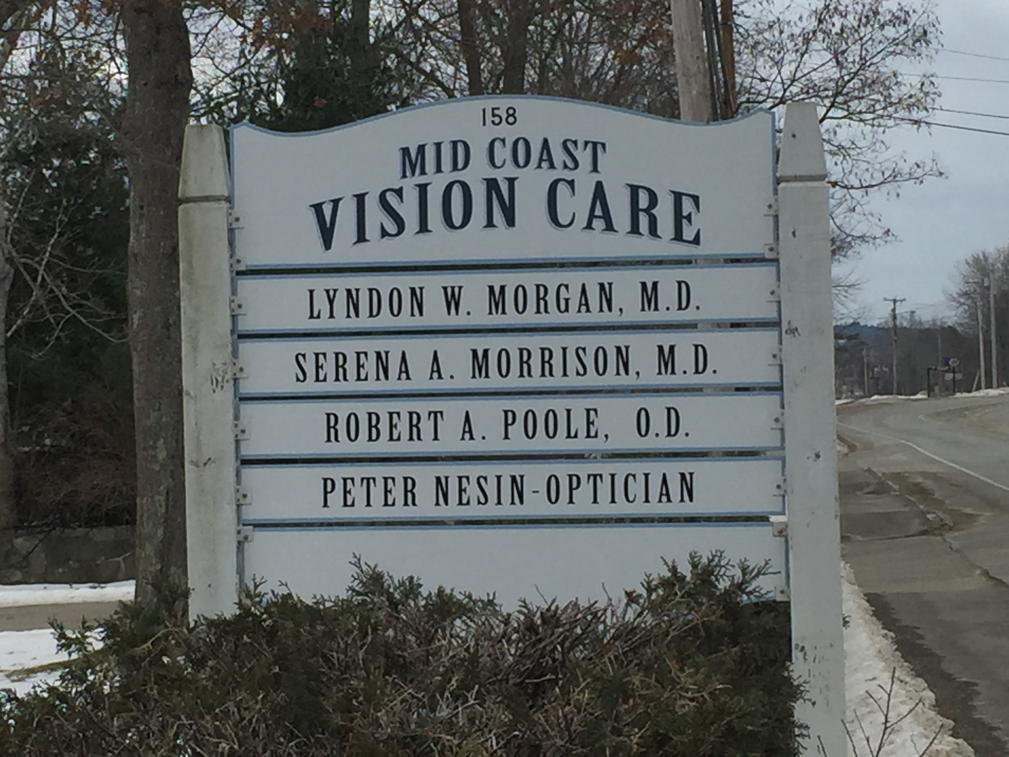 Mid coast vision care Belfast maine